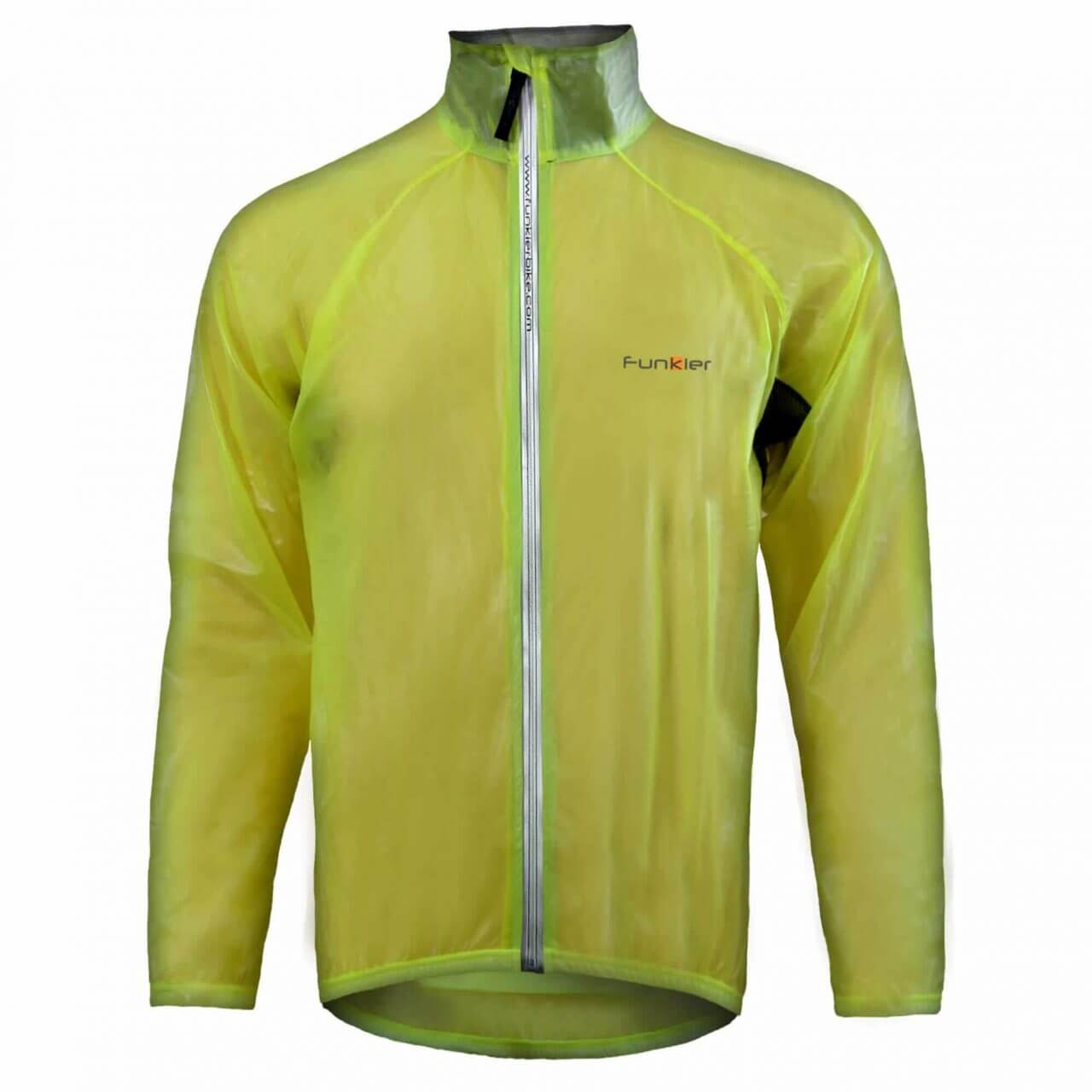 genuine shoes limited sale offer Cycling Men Rain Jacket Yellow - Funkier Bike
