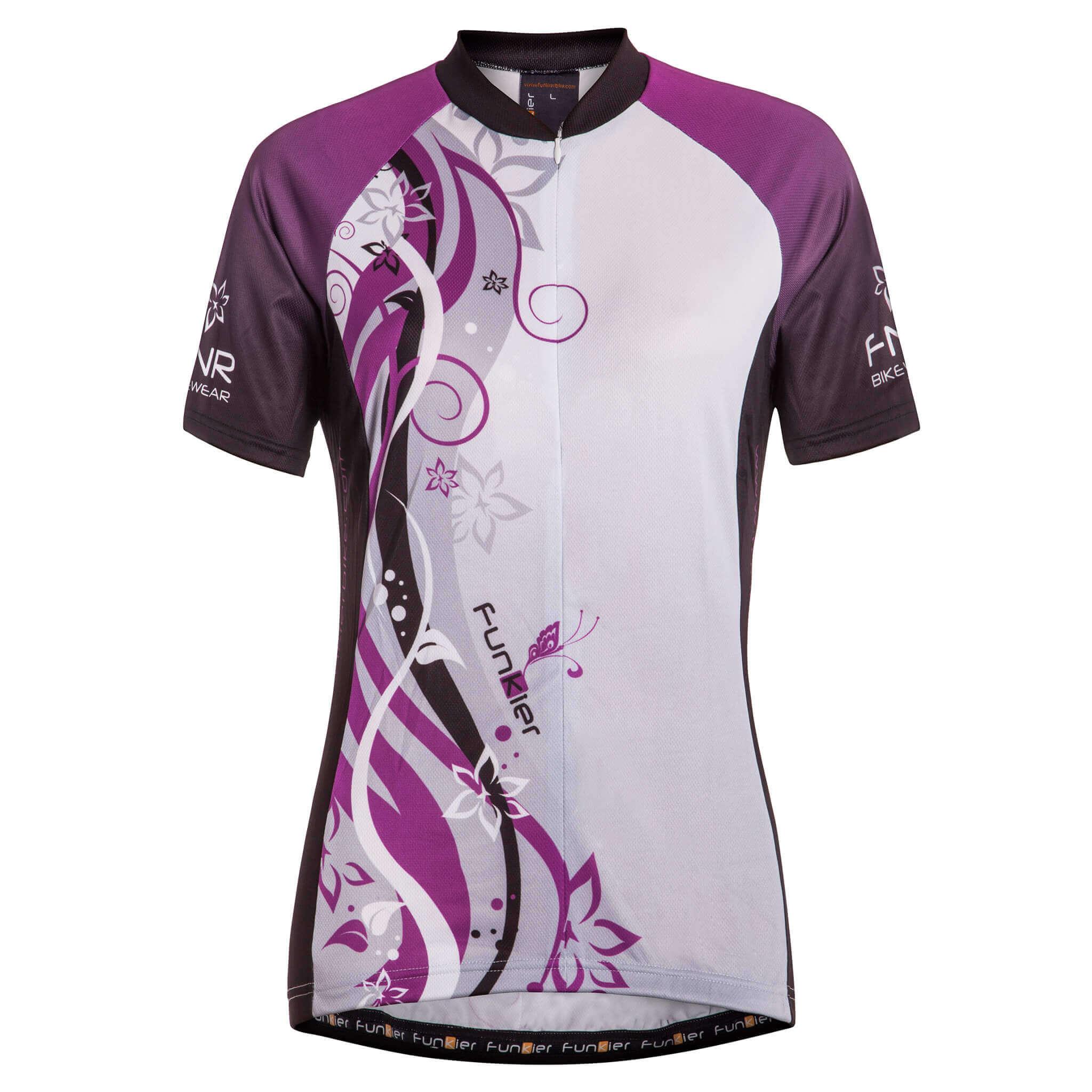 Ladies Short Sleeve Jersey J-383